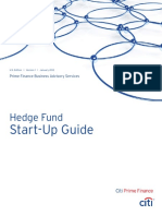 Citi Prime Finance Hedge Fund Start-up Guide Jan 2012