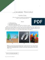 Archimedes Principle 8