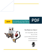 The Economic and Fiscal Effects of Expanding Alcoholic Beverage Sales in the City of Dallas