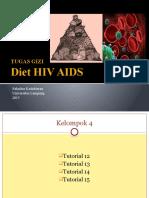 Tugas Gizi Diet HIV Kel.4