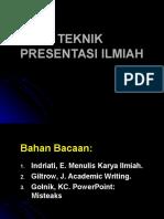 KP 1.1.15 Teknik Presentasi Ilmiah