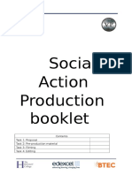 social action production booklet