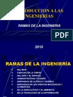 Ramas de La Ingenieria