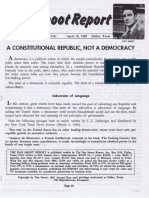 A Constitutional Republic, Not a Democracy-1966-4