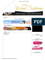 Blog Wani Sukarno_ Jus Epal Hijau
