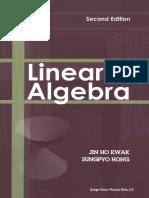 Linear Algebra - Jin Ho Kwak & Sungpyo Hong