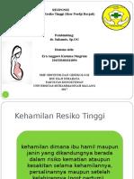 Kehamilan Resiko Tinggi (KSPR).ppt