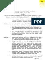 P.26 Thn 2009 Standar Biaya HTI