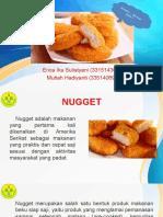 Zat Aditif Pada Nugget_Kimia BioMakanan_UNJ