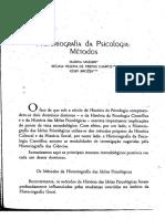 MASSIMI - Historiografia - Da - Psicologia - Metodos