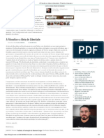 A Filosofia e a Ideia de Liberdade – Filosofia e Literatura