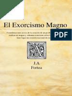 Exorcismo Magno - Jose Antonio Fortea