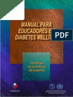 Manual Para Educadores en Diabetes 2007