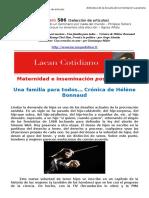 seleccion de articulos de psicoanalisis de la orientacion lacaniana