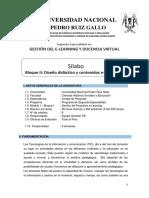Silabo Modulo I - Bloque II -2da Edic