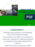 Inducción Institucional Bancos Medianos
