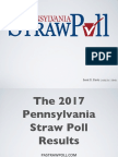 Pennsylvania Straw Poll 2017