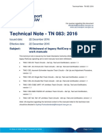 Double Rail AC Track Cct Tmg 1354