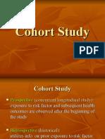 3. Cohort Study 2013