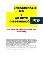 Dispensacionalismo e as Sete Dispensações