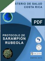 Protocolo Nacional de Sarampión-rubéola-2015 Final Con Anexos Bbb