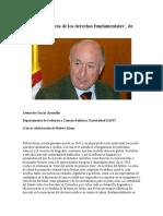 """Análisis de """"Teoría de Los Derechos Fundamentales"""". De Robert Alexy"""