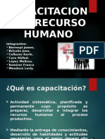 CAPACTION DEL RECURSO HUMANO.ppt