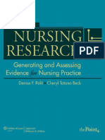 Nursing Research_ Generating and Assessing Evidence for Nursing Practice, 9 Edition