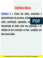 Estatistica Basica