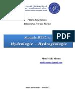 Cours COMPLET Hydrogeologie BTP