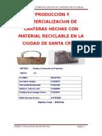 Proyecto de Carteras Reciclables