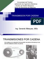 Transmisión de Cadena