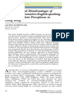 Advantages and disadvantages of native- and nonnative-English-speaking teachers student perceptions in Hong Kong.pdf