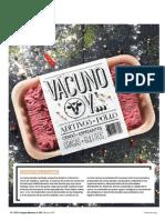 Carne Picada de Vacuno