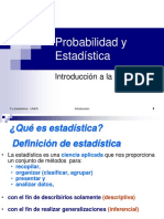 Introduccion a La Estadistica