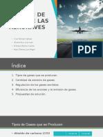 Emisión de Gases de Las Aeronaves