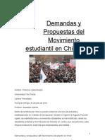 Monografía- Movimiento Estudiantil.