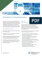 Tuev Rheinland Cyber Security en 2015