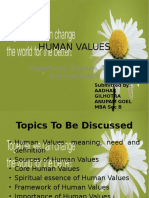 Anupam , Aadhar-Human Values Ppt