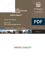 CVG 2132-Lec 10 - Water Quality - Student
