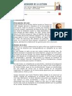 Quique Hache, Detective- Ficha de Trabajo