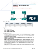 6.3.2.3 Lab - Configuring a Router as a PPPoE Client for DSL Connectivity - ILM.pdf