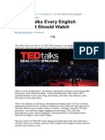 How to Use TED Talks