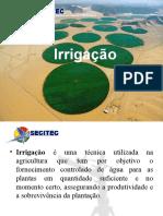 Tipos de Irrigaçao
