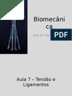 Biomecânica aula - Ligamentos e tendão.ppt