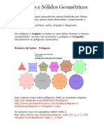 Polígonos e Sólidos Geométricos