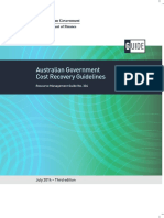 Australian Government Cost Recovery Guidelines