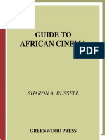Sharon a. Russell Guide to African Cinema 1998