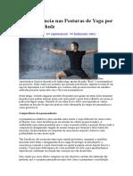 A Permanência Nas Posturas de Yoga Por Gilberto Schulz