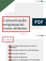 Comunicação Empresarial - Novos Atributos (Para Apresentação)